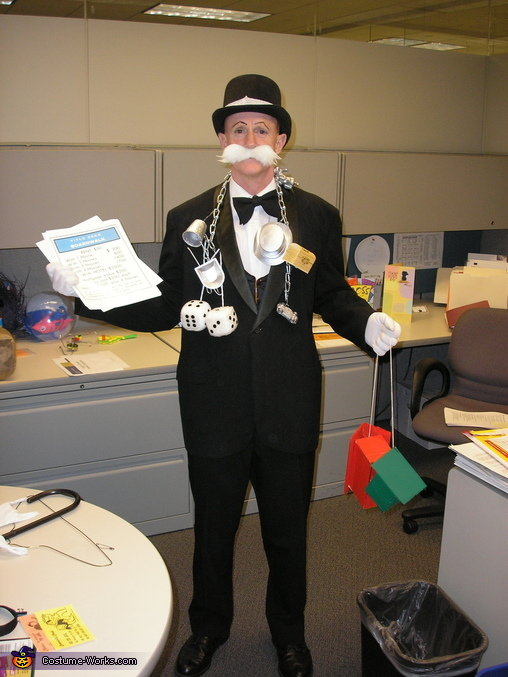Monopoly Man - Homemade costumes for men