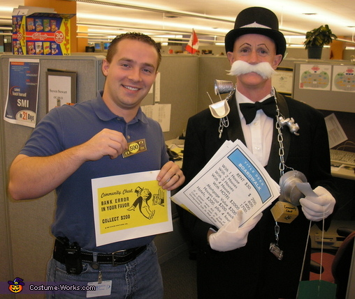 Monopoly Man Rich Uncle Pennybags Costume