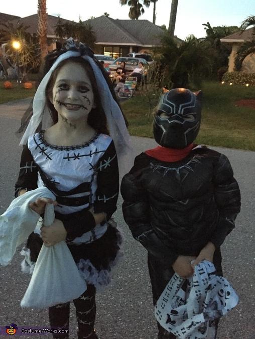 Monster Bride Costume for Girls