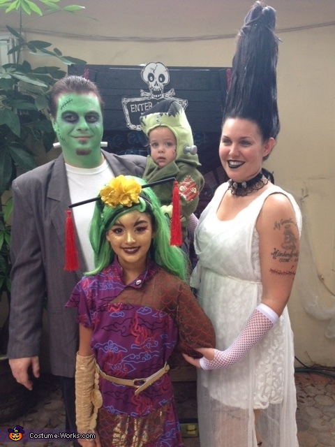 Monster Family Costume