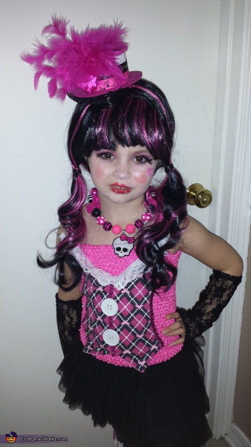 Monster High Draculaura Homemade Costume