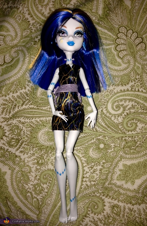 Monsters High Freaky Fusion Frankie Stein Doll Inspiration, Monster High Freaky Fusion Frankie Stein Costume
