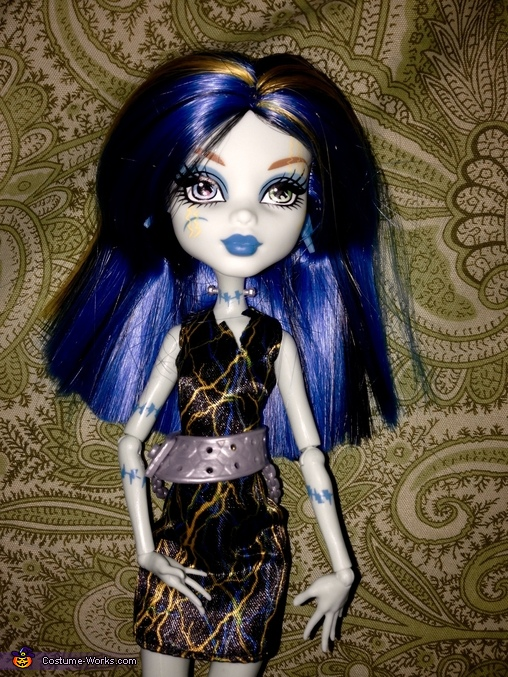 Makeup and Eyes Inspiration, Monster High Freaky Fusion Frankie Stein Costume