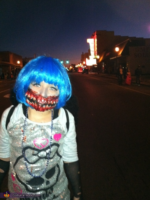 scary downtown, Monster High Girl Costume