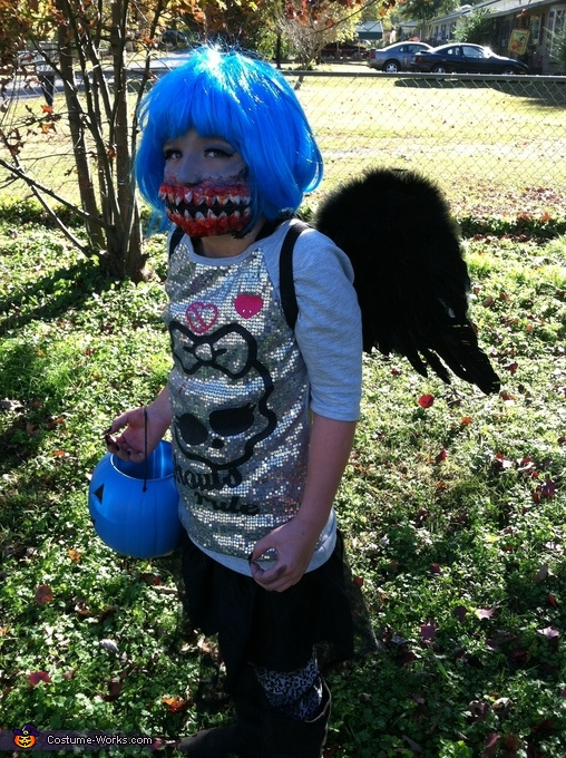 Dark Monster with wings, Monster High Girl Costume
