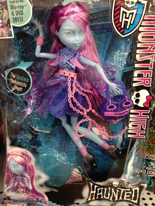 Kiyomi Haunterly Doll, Monster High Kiyomi Haunterly Costume