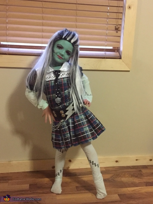 Monster High's Frankie Stein Costume