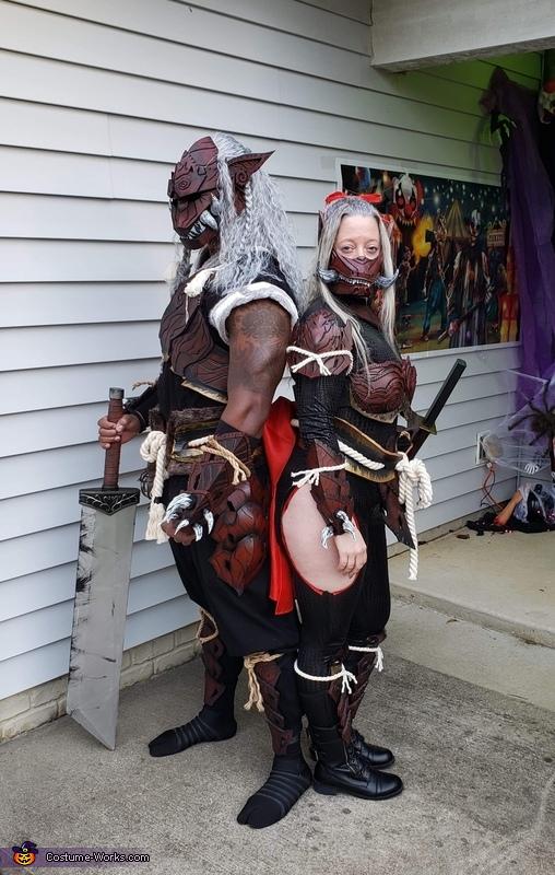 Monster Hunter Odogaron Armor Set Costume