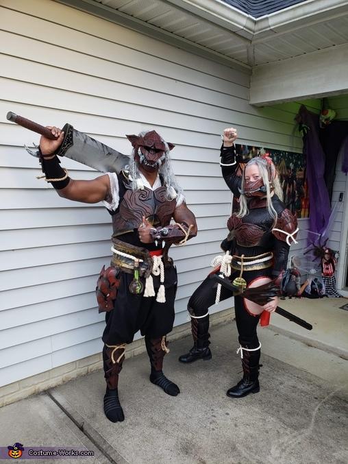 Odogaron Victory Pose!, Monster Hunter Odogaron Armor Set Costume
