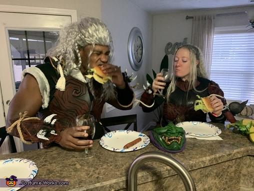 Feasting Before the Hunt, Monster Hunter Odogaron Armor Set Costume