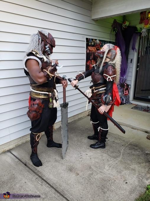 Lovers Quarrel, Monster Hunter Odogaron Armor Set Costume