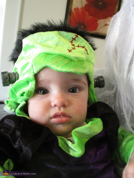 FrankenRew (Matthew as baby Frankenstein), Monster Mash Costume