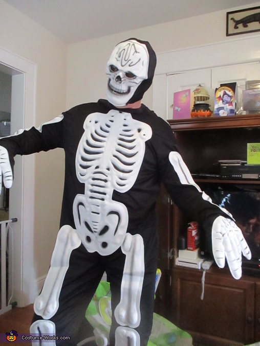 Mr. Skellybones himself, Monster Mash Costume