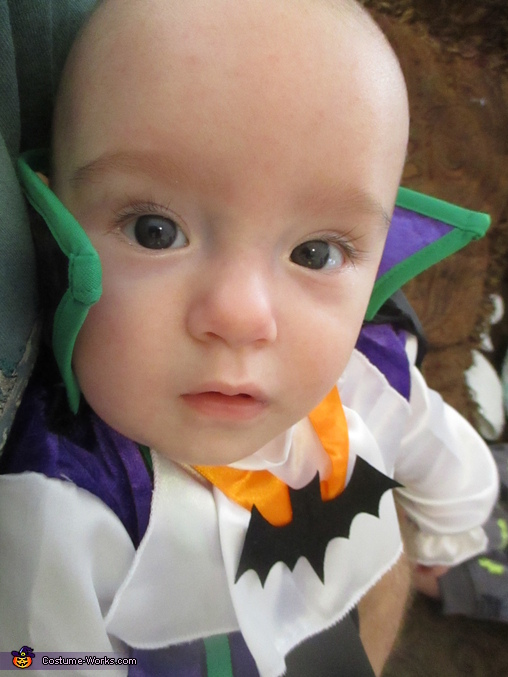Close up please! -Baby Dracula, Monster Mash Costume