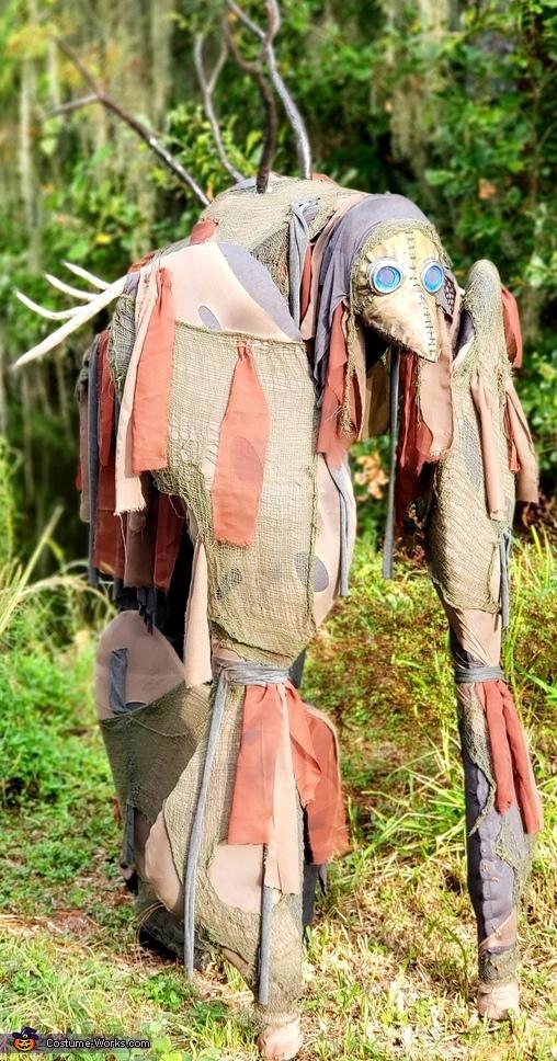 Monster of Bog Homemade Costume