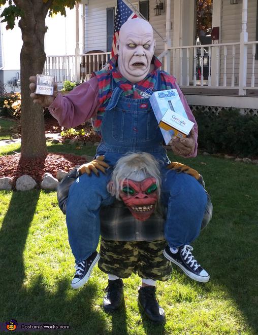 Monster on Monster Costume