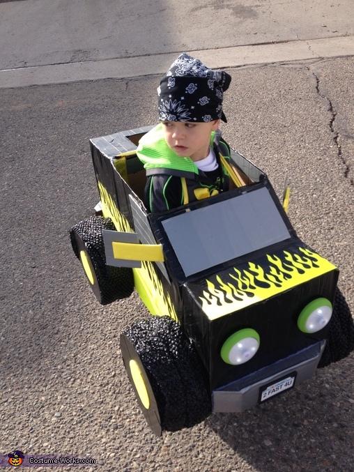 Monster Truck Homemade Costume