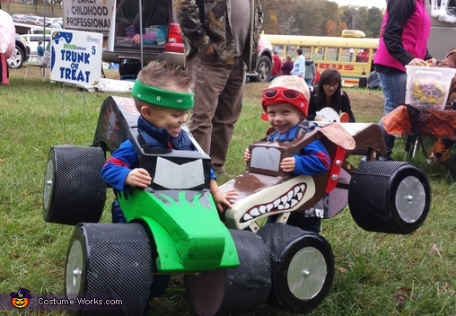 Monster Trucks Costume