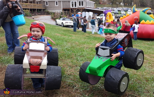 Monster Trucks Homemade Costume