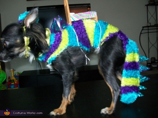 Monster Under the Bed Dog Costume