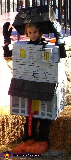 Monster House - Homemade costumes for kids