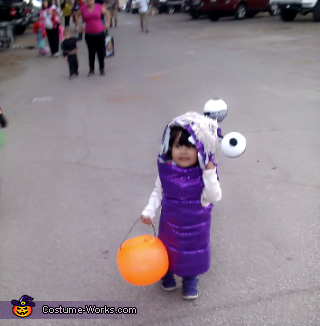Monsters Inc Boo Homemade Costume
