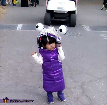 Monsters Inc Boo Halloween Costume Photo 6 7