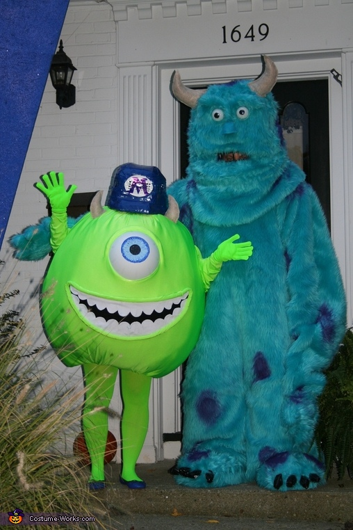 Monsters Inc. Family Costumes