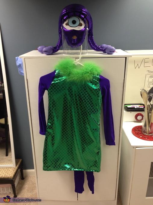 Celia, Monsters Inc. Family Costumes