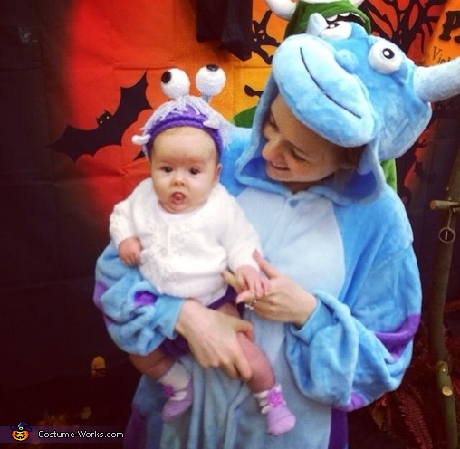 Me & my little Boo! , Monsters Inc. Family Costume