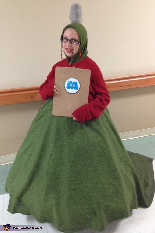 Roz, Monsters Inc. Costume