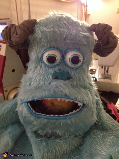 Sulley's head, Monsters Inc. Costume