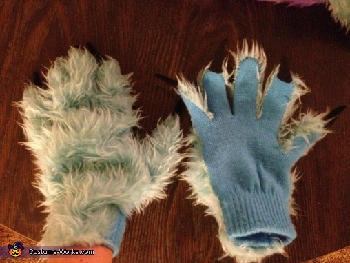 Hands, Monsters Inc. Costume