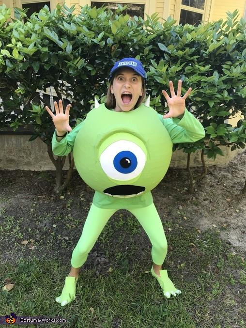 Monsters, Inc. Mike Wazowski Costume