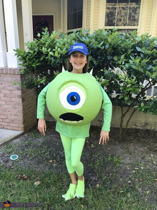 So cute!, Monsters, Inc. Mike Wazowski Costume