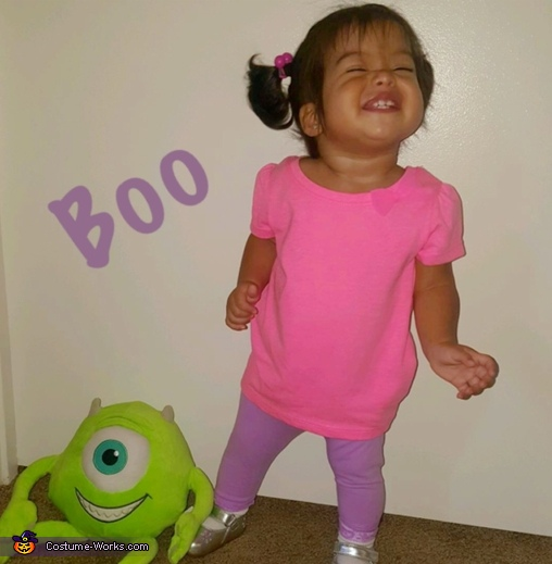 Cutest Boo around, Monsters Inc Costume