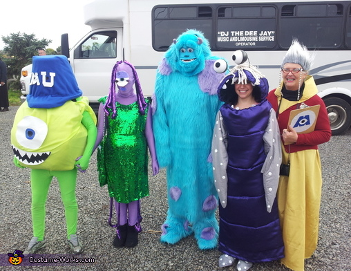 Monsters, Inc. Group Costume