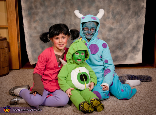 Monsters Inc. Costumes