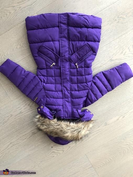 The original coat, Monsters Inc Boo Costume