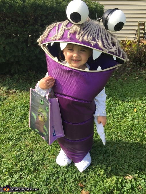 Monsters Inc Boo and Mike Wazowski Homemade Costume