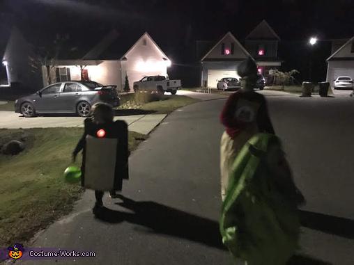Monsters Inc Boo's Door Homemade Costume