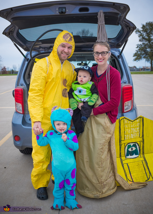 Monsters Inc Characters Family Costume