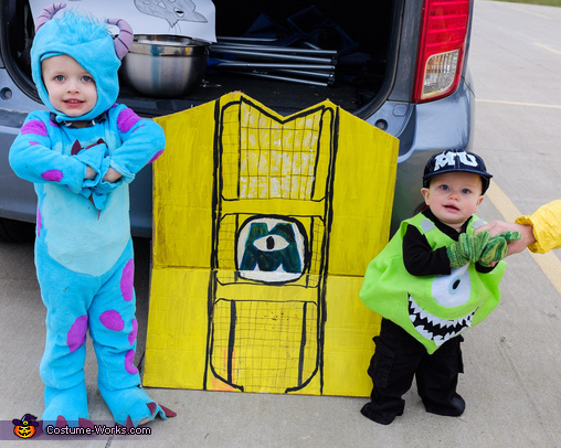 Mike and Sully, Monsters Inc Characters Costume
