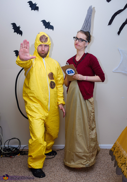 Roz and CDA, Monsters Inc Characters Costume