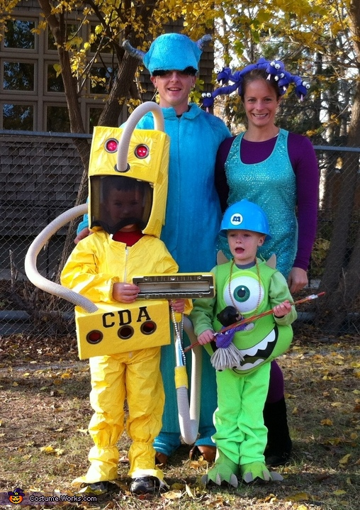 Monsters Inc Child Detection Agent Costume Photo 2 2