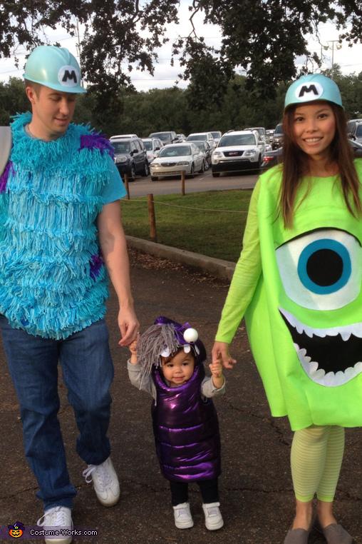 Monster's Inc Family, Monsters Inc Family Costume