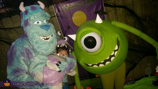 Monster's Inc 2014, Monsters Inc Family Costume