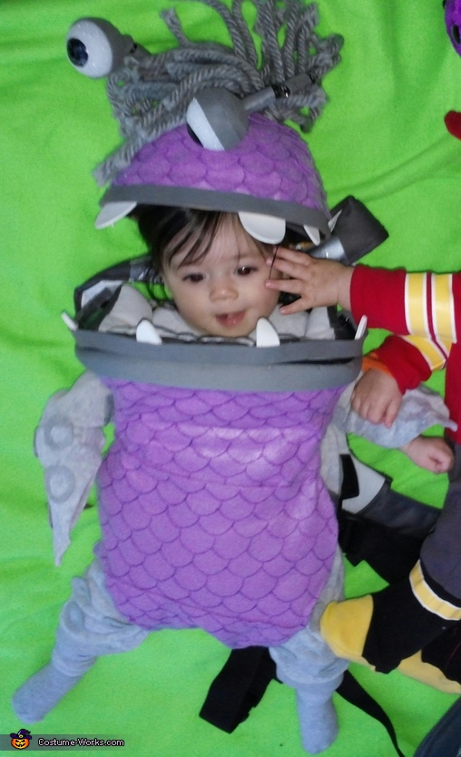 Boo, Monsters Inc Family Costume