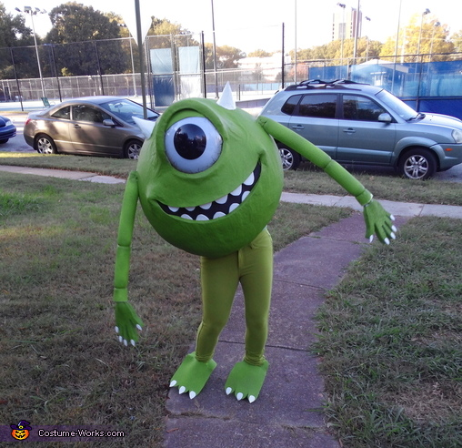 Mike Wazowski , Monsters Inc Family Costume