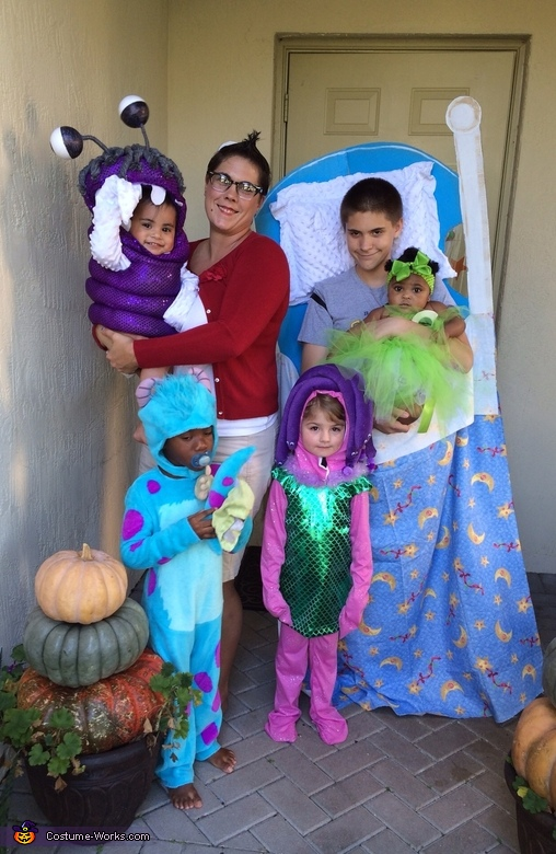 Diy Monsters Inc Family Costume Best Diy Costumes